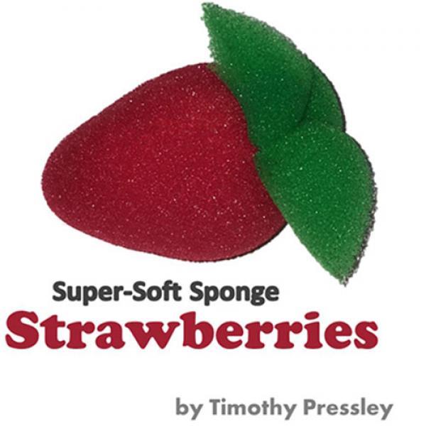 Super-Soft Sponge Strawberries by Timothy Pressley...