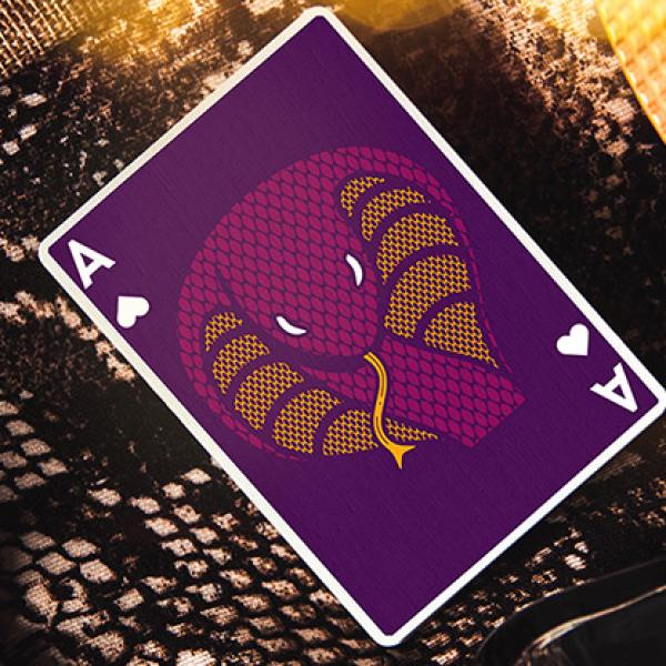 Mazzo di carte The Serpent (Purple) Playing Cards