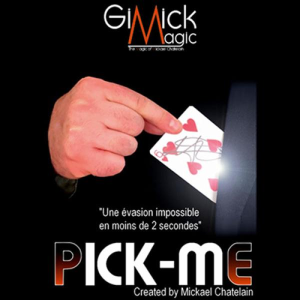 PICK ME (RED) by Mickael Chatelain