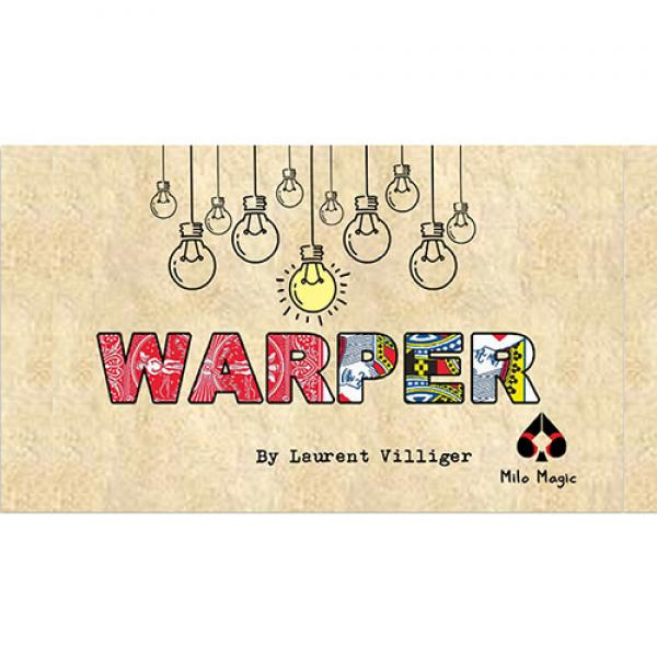 WARPER Red by Laurent Villiger