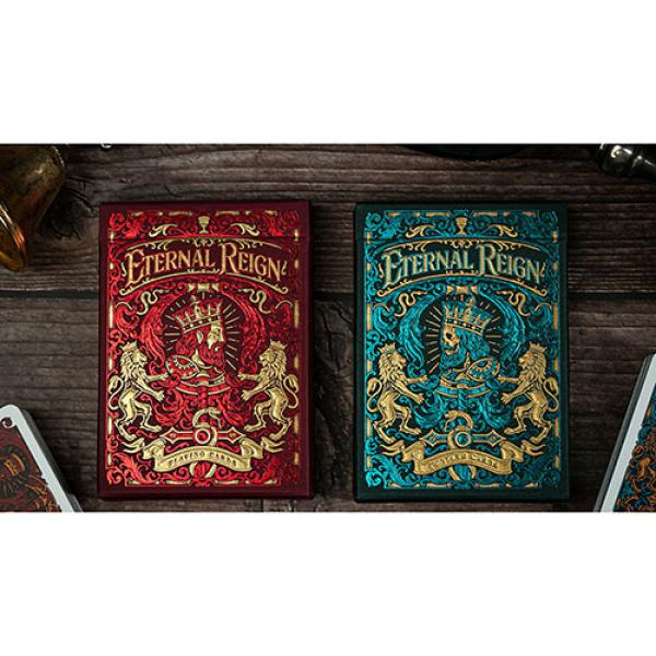 Eternal Reign (Ruby Empire) Playing Cards by Riffl...