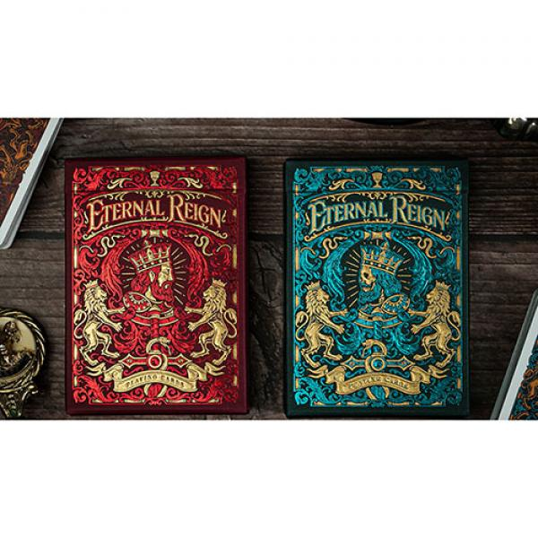 Eternal Reign (Sapphire Kingdom) Playing Cards by ...