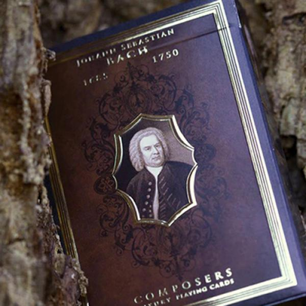 Mazzo di carte Johann Sebastian Bach (Composers) Playing Cards