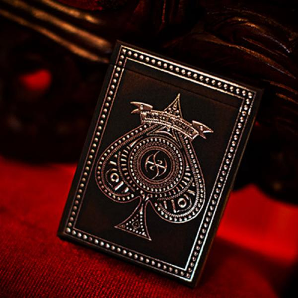 Mazzo di carte Black Platinum Lordz Playing Cards ...