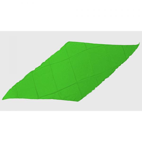 Diamond Cut Silk 18 inch (Green) by Magic by Gosh-...