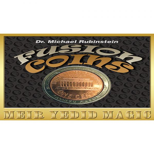 Fusion Coins Quarter (Gimmicks and Online Instruct...