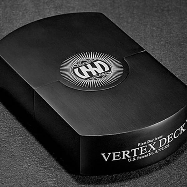 Vertex Black Playing Cards