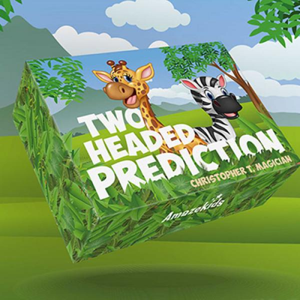 Two-Headed Prediction (Gimmicks and Online Instructions) by Christopher T. Magician