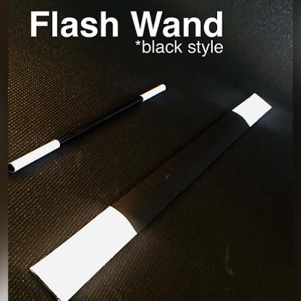 FLASH WAND (BLACK) by Victor Voitko (Gimmick and O...