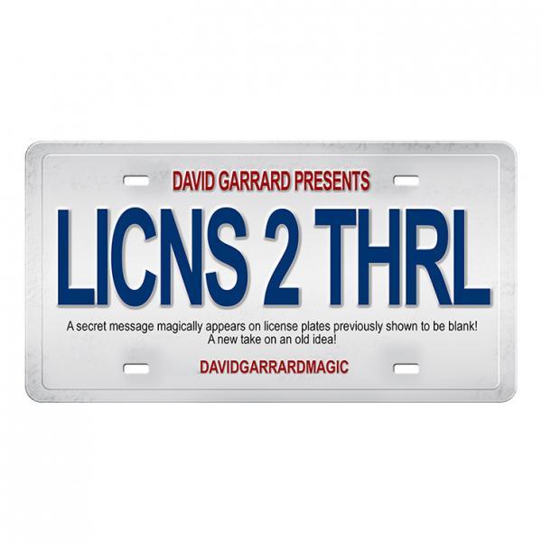 License to Thrill by David Garrard