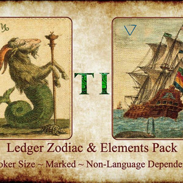 Ledger Zodiac & Element Pack by Taylor Imagine...