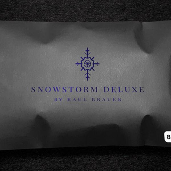 Snowstorm Deluxe (White) by Raul Brauer