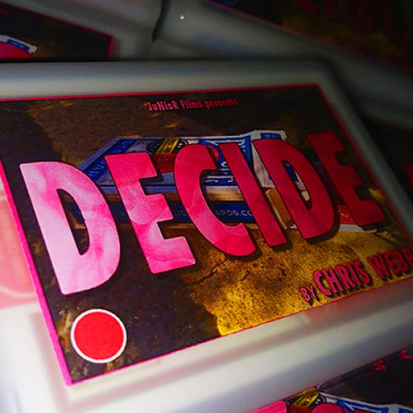 Decide RED by Chris Webb by Chris Webb