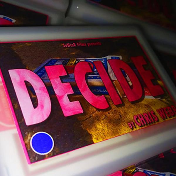 Decide BLUE by Chris Webb by Chris Webb