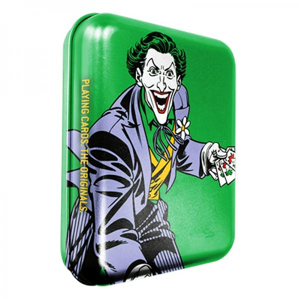 DC Super Heroes - Joker Playing Cards - Tattoo Tin...