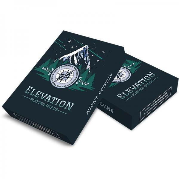 Mazzo di Carte Elevation Playing Cards - Night Edi...
