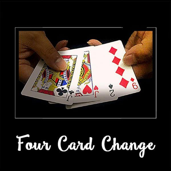 Four Card Change by J.C Magic