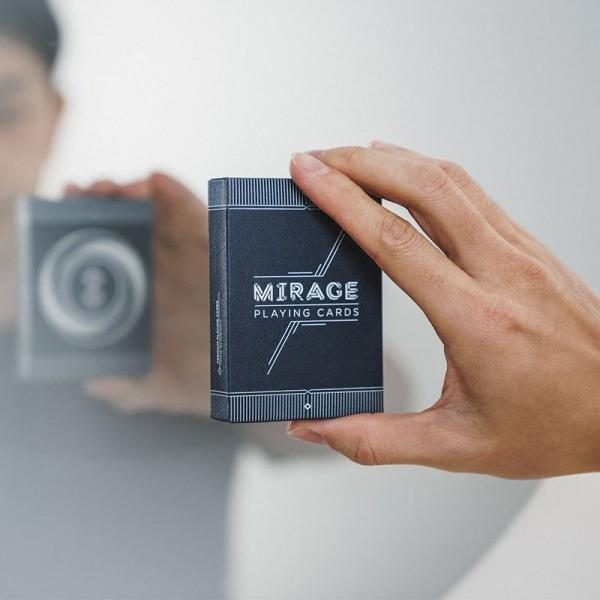 Mirage V4 Eclipse Playing Cards by Patrick Kun
