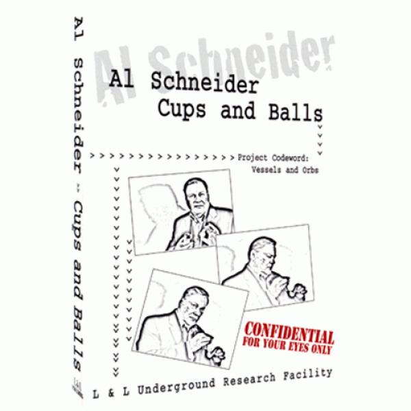 Al Schneider Cups & Balls by L&L Publishin...