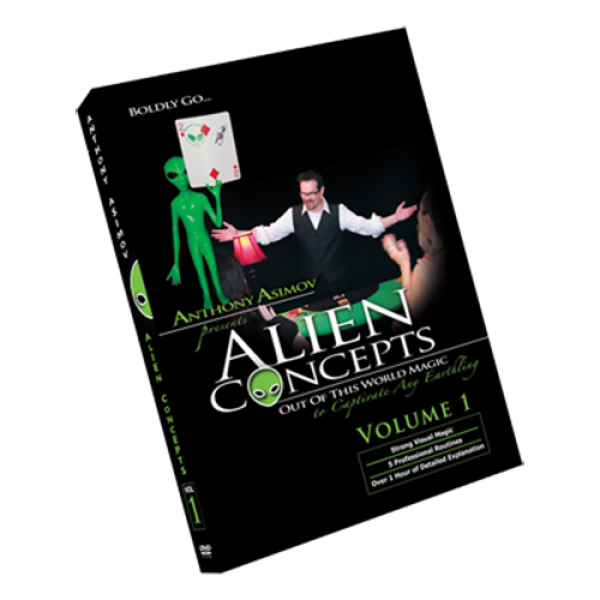 Alien Concepts Part 1 by Anthony Asimov Black Rabb...