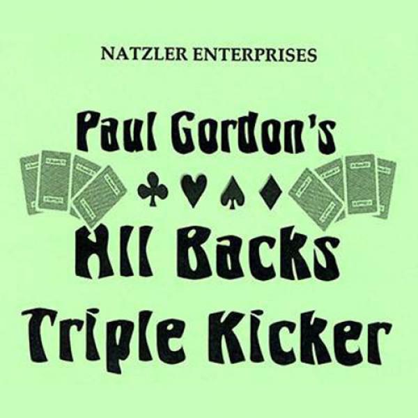 All Backs Triple Kicker by Paul Gordon