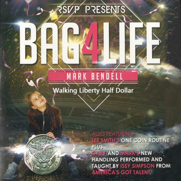 Bag4Life (1 Walking Liberty Half Dollar Coin and D...