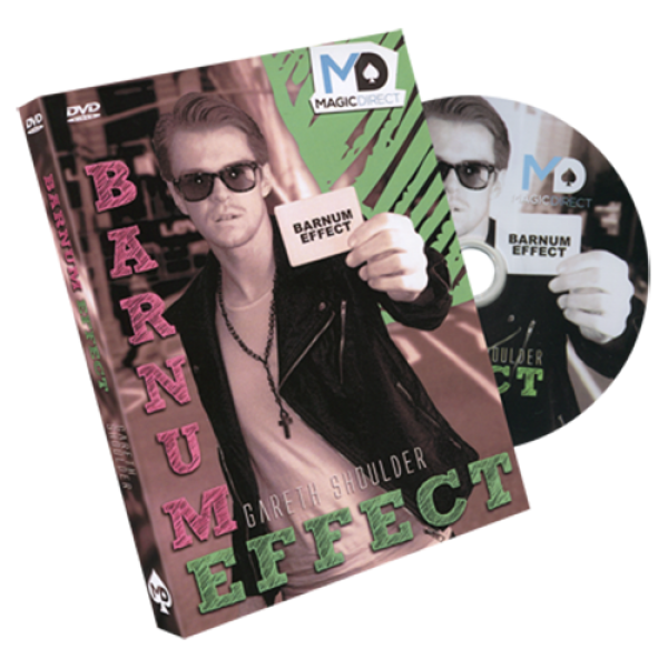 Barnum Effect (DVD and Gimmick) by Gareth Shoulder...