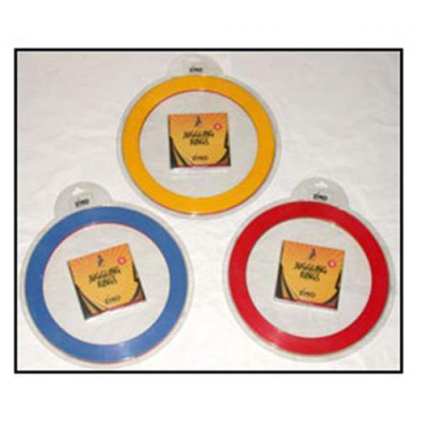 Juggling Rings Set (3 Rings and DVD) - Assorted Co...