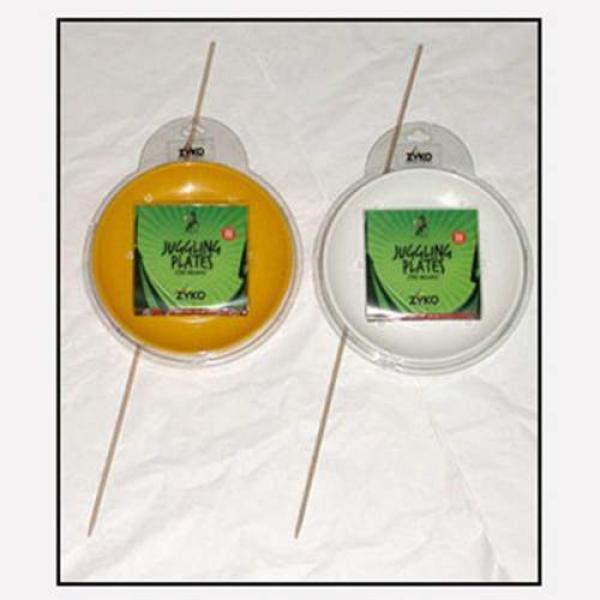 Spinning Plate Set (W/Wooden Stick and DVD) - Gree...