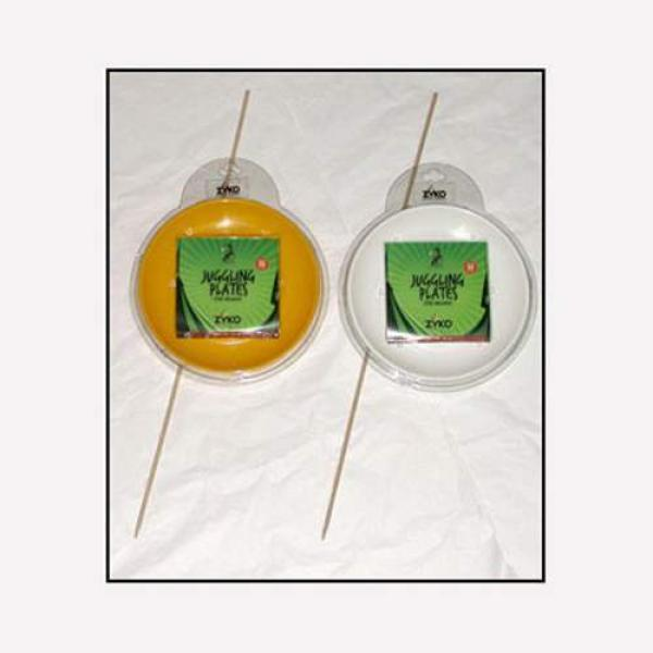 Spinning Plate Set (W/Wooden Stick and DVD) - Yell...