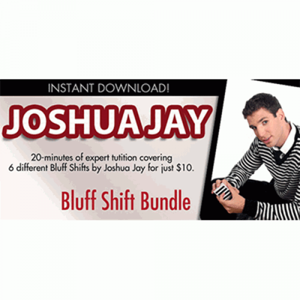 Bluff Shift Bundle by Joshua Jay and Vanishing, In...