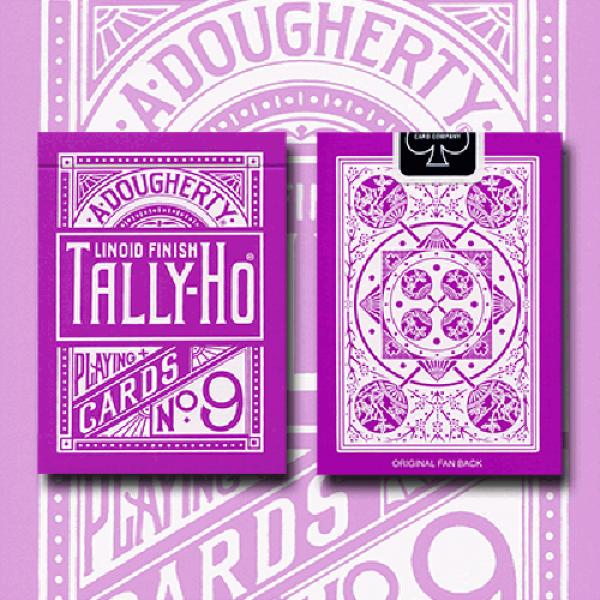 Tally Ho Reverse Fan back (Lavender) Limited Ed. b...
