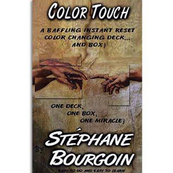 Color Touch by Stephane Bourgoin - Book and Props