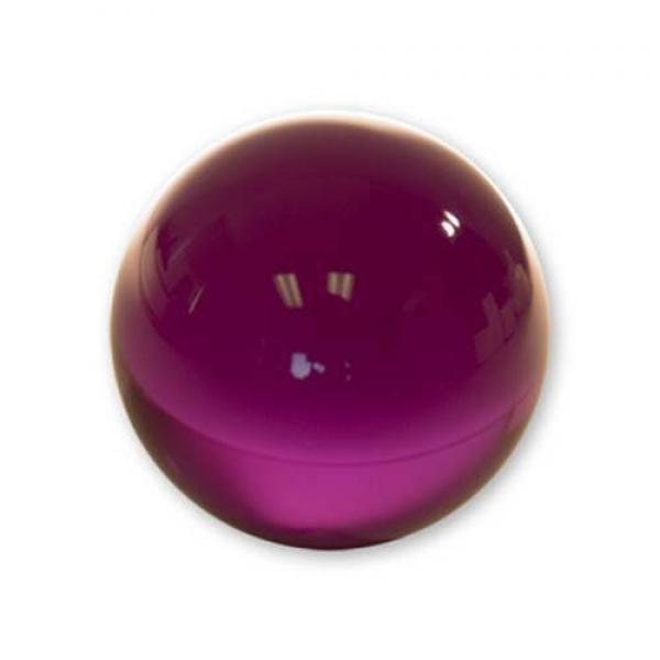 Contact Juggling Ball (Acrylic, PURPLE, 76 mm)