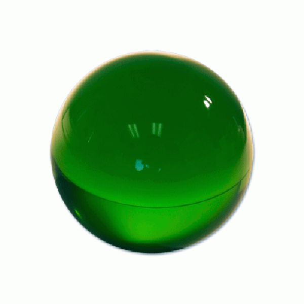 Contact Juggling Ball (Acrylic, FOREST GREEN, 65 m...