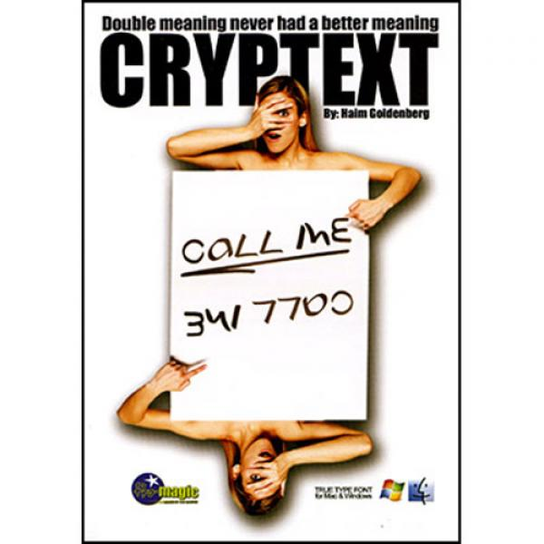 Cryptext by Haim Goldenberg