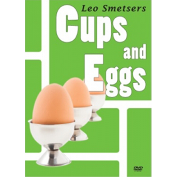 Cups and Eggs (DVD and Props) by Leo Smetsers and ...