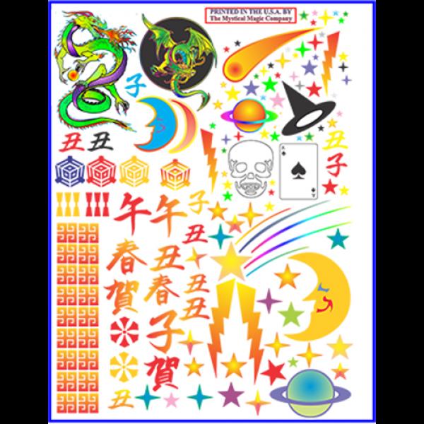 Deco Sheet (large) by Imagin-If Magic