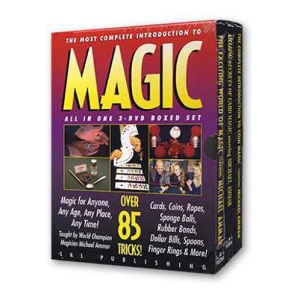 Ammar Trilogy by Michael Ammar - 3 DVD Set