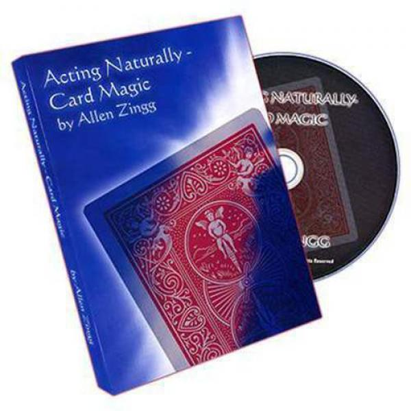 Acting - Naturally (Card Magic) by Allen Zingg - D...
