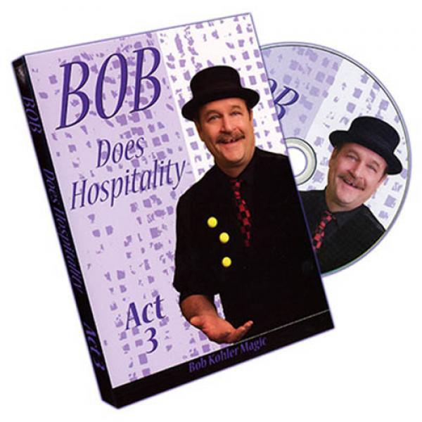 Bob Does Hospitality - Act 3 by Bob Sheets - DVD