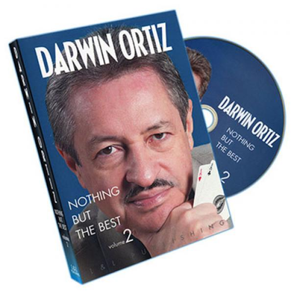 Darwin Ortiz - Nothing But The Best V2 by L&L Publishing - DVD