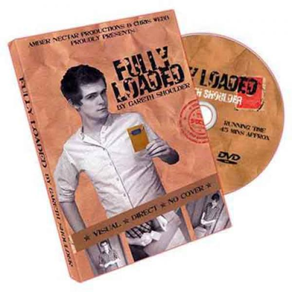 Fully Loaded by Gareth Shoulder - DVD and Props