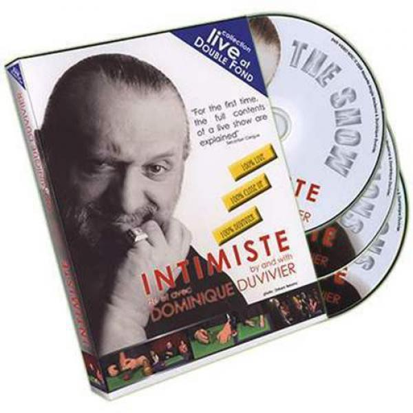 Intimiste by Dominique Duvivier - 3 DVD Set