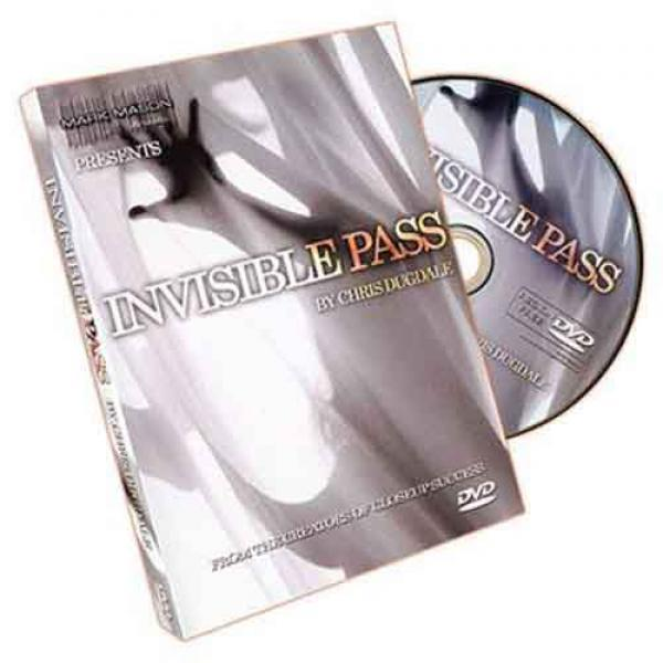 The Invisible Pass by Chris Dugdale JB Magic - DVD