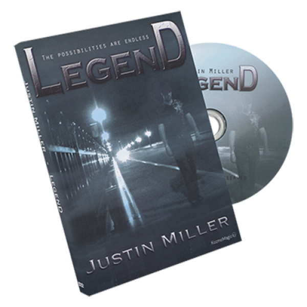 Legend by Justin Miller and Kozmomagic - DVD and G...