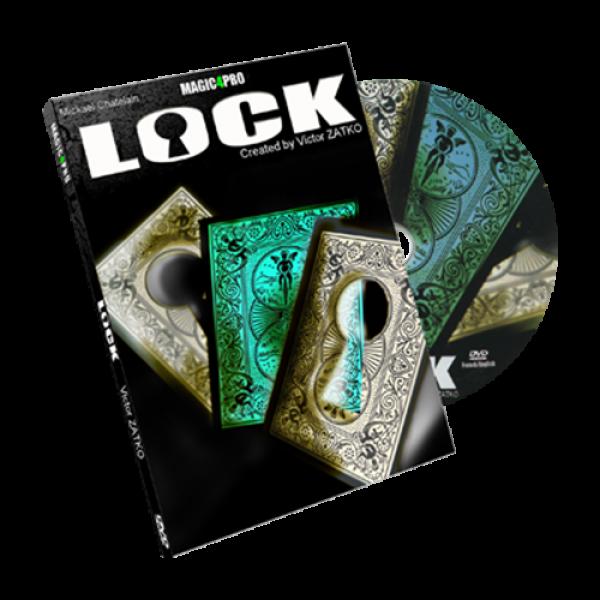 Lock (Blue version) by Victor Zatko