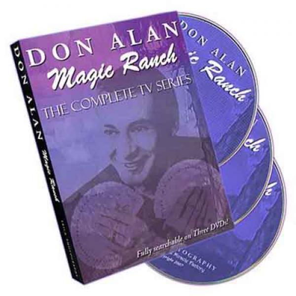 Magic Ranch by Don Alan - 3 DVD Set