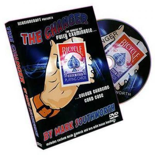 The Changer by Mark Southworth - DVD and Gimmick