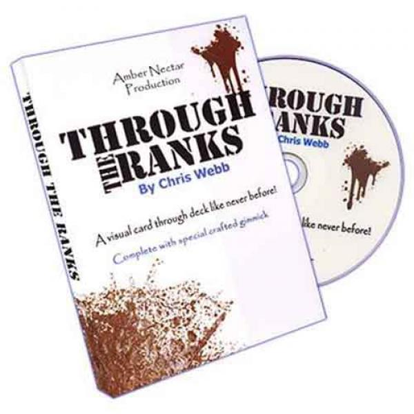 Through The Ranks (Blue) by Chris Webb - DVD and G...